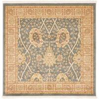 Unique Loom Adel Edinburgh Square Rug - 4' x 4'