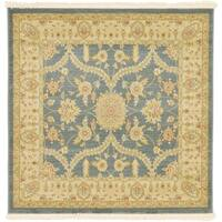 Unique Loom Tansy Edinburgh Square Rug - 4' x 4'