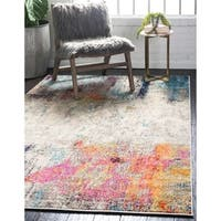 Unique Loom Tybee Chromatic Area Rug - 4' x 6'