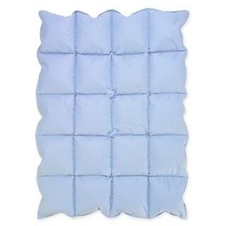 Sweet Jojo Designs Blue Baby Crib Down Alternative Comforter Blanket