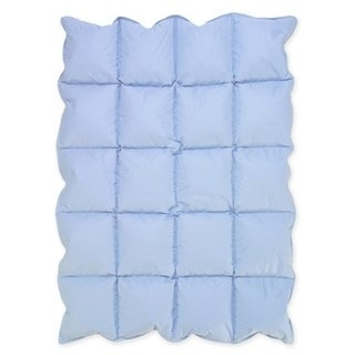 Sweet Jojo Designs Blue Baby Crib Down Alternative Comforter Blanket