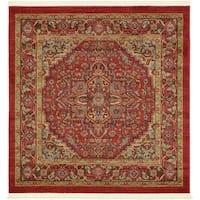 Unique Loom Ardashir Sahand Square Rug - 4' X 4' Square