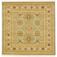 Unique Loom Antioch Sahand Square Rug - 4' Square