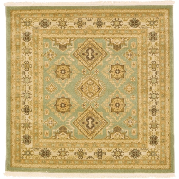 Unique Loom Antioch Serapi Square Rug - 4' 0 x 4' 0