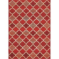 Unique Loom Outdoor Eden Trellis Area Rug