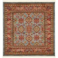 Unique Loom Alexander Sahand Square Rug - 4' x 4'