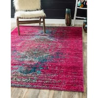 Unique Loom Warhol Vita Area Rug - 4' x 6'