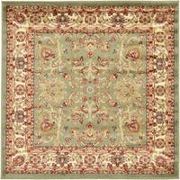 Unique Loom St. Florence Agra Square Rug - 4' 0 x 4' 0
