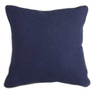 Razia Solid 22-inch Square Throw Pillow by Kosas Home