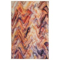 Mohawk Home Prismatic Wavelength Abstract Area Rug (5' x 8') - 5' x  8'