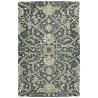 Hand-Tufted Ashton Graphite Wool Rug - 2' x 3'