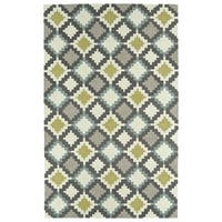 Hand-Tufted Copal Ivory Wool Rug - 2' x 3'
