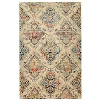 Machine-Made Loki Linen Polypropylene Rug - 1'10 x 3'1