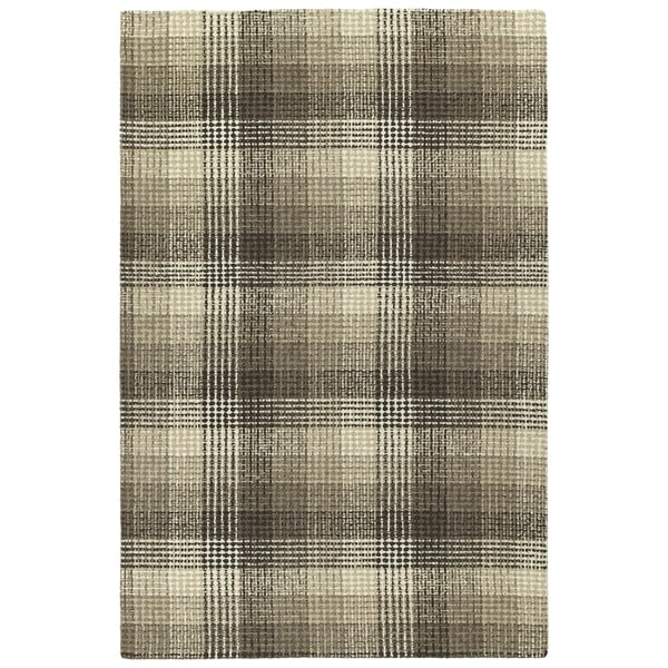 Hand-Tufted Snook Brown Wool Rug - 2' x 3'