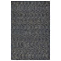 Hand-Tufted Brantley Blue Wool Rug - 2' x 3'