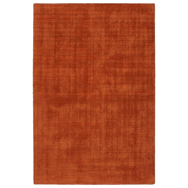 Indoor/Outdoor Handmade Tula Rust Polyester Rug - 2' x 3'