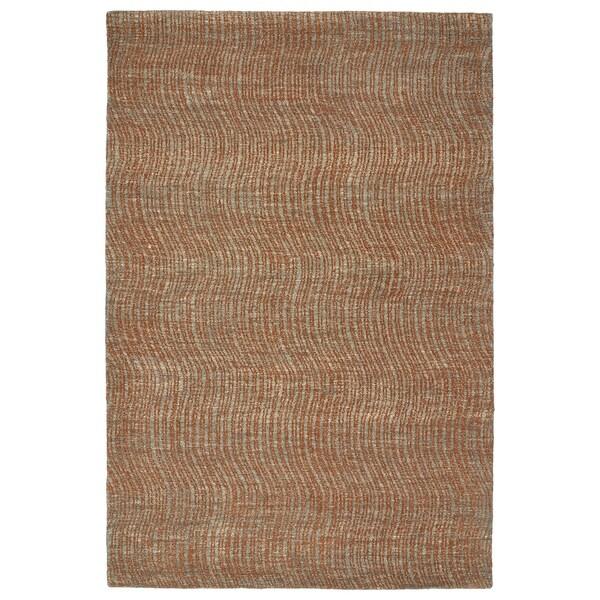 Hand-Tufted Brantley Paprika Wool Rug - 2' x 3'
