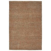 Hand-Tufted Brantley Paprika Wool Rug - 2' x 3'