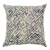 Marin Linen 22-inch Square Throw Pillow