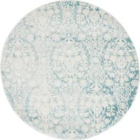 Unique Loom Tyche New Classical Round Rug - 4' Round