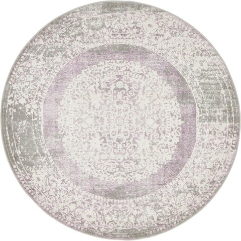 Unique Loom Olwen New Classical Round Rug