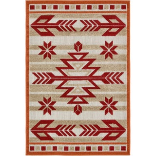 Unique Loom Albuquerque Transitional Area Rug - 4' x 6'