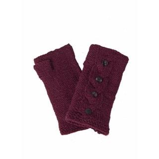 Laundromat Haven Bordeaux Wool Hand Warmers