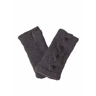 Laundromat Haven Charcoal Wool Hand Warmers