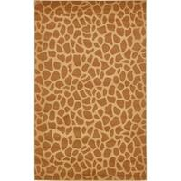 Unique Loom Wild Safari Area Rug - 5' x 8'