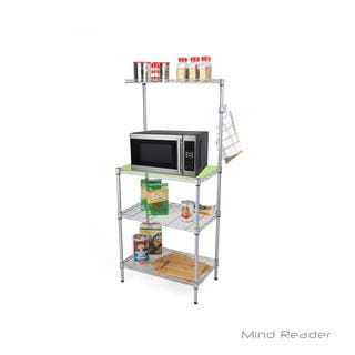 Mind Reader 3 Tier Microwave Shelf Counter Unit with Hooks|https://ak1.ostkcdn.com/images/products/18080830/P24241295.jpg?impolicy=medium