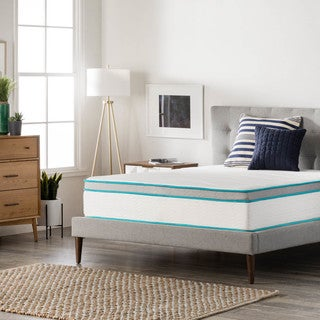 LINENSPA 12-inch Gel Memory Foam Hybrid Twin-size Mattress