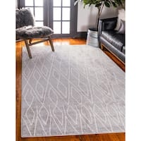 Unique Loom Geometric Atlas Area Rug - 5' x 8'