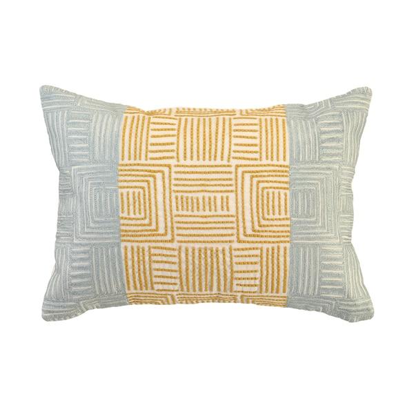 Kosas Home Dixon Embroidered 14 x 20 Throw Pillow