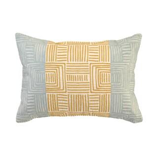 Dixon Geometric 14-inch x 20-inch Rectangular Throw Pillow