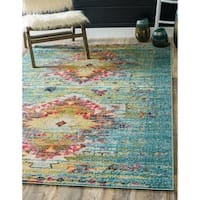 Unique Loom Chagall Vita Area Rug - 4' x 6'
