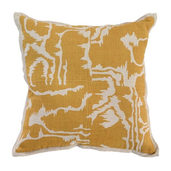 Kosas Home Savoir Linen 18-inch Throw Pillow