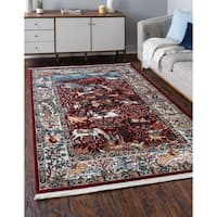 Unique Loom Birmingham Narenj Area Rug - 10' x 13'