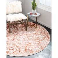 Unique Loom Tyche New Classical Round Rug - 6' x 6'