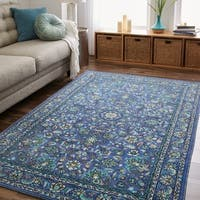 Gracewood Hollow Pivano Traditional Floral Area Rug - 5' x 8'
