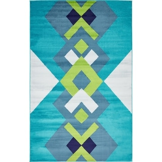 Unique Loom Metro Crossways Area Rug