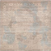 Unique Loom Fremont Paris Square Rug - 8' x 8'