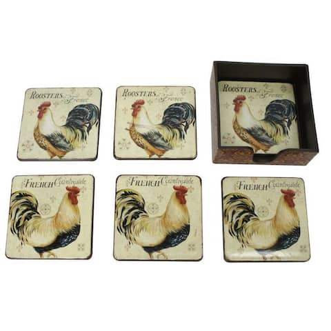 Rooster Coaster (Set of 6)