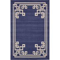 Unique Loom Geometric Athens Area Rug - 6' x 9'