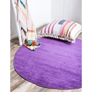 Nuloom Handmade Abstract Round Rug Free Shipping Today