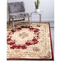 Unique Loom Leon Versailles Round Rug - 6' 0 x 6' 0