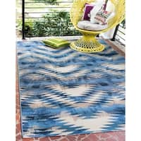 Unique Loom Aztec Outdoor Area Rug