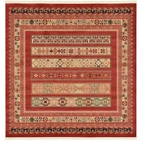Unique Loom Pasadena Nomad Square Rug - 6' 0 x 6' 0