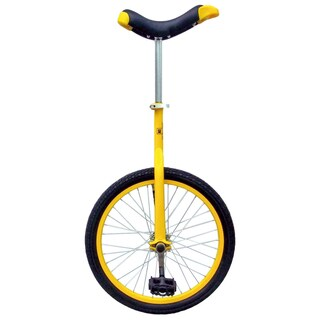 """Fun Yellow 20"""" Unicycle with Alloy Rim"""