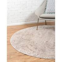 Unique Loom Oak Kensington Round Rug - 6' 0 x 6' 0