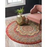 Unique Loom Quincy Palace Round Rug